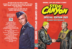 DVD di Steve Canyon