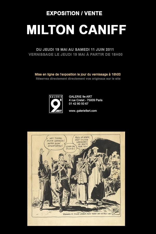 Milton Caniff in mostra a Parigi