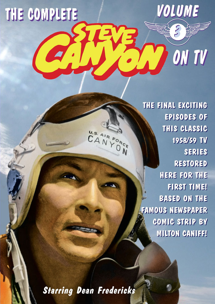 Steve Canyon DVD Vol. 3