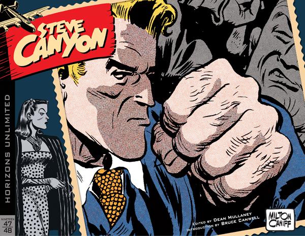 Nuova edizione integrale per Steve Canyon