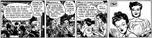 Striscia del 22/3/1947 tagliata